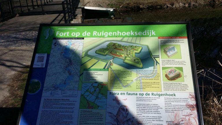 Rondwandeling Fort Ruigenhoek